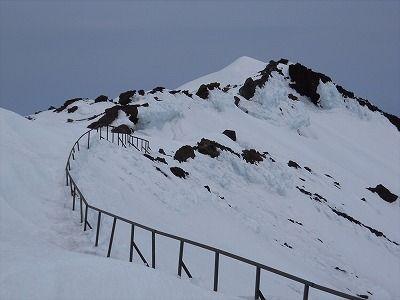 三島岳とブル道合流点 - c