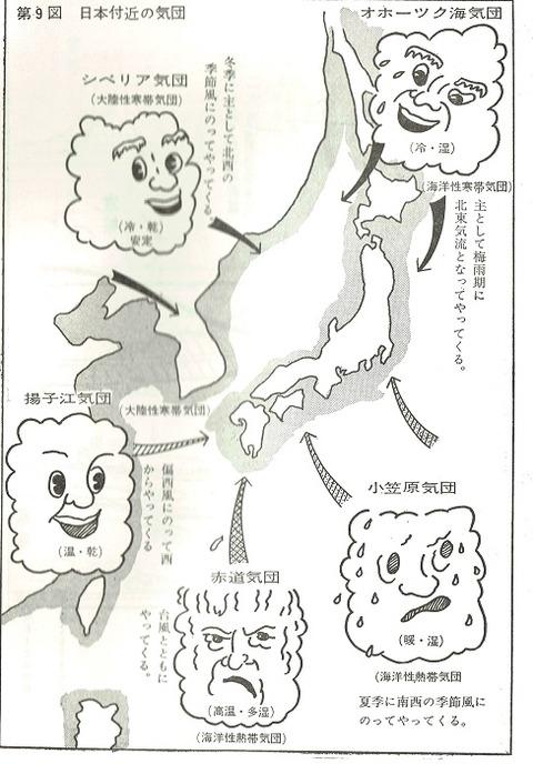 山本治美氏天気図1