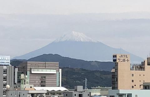 1016日の富士山