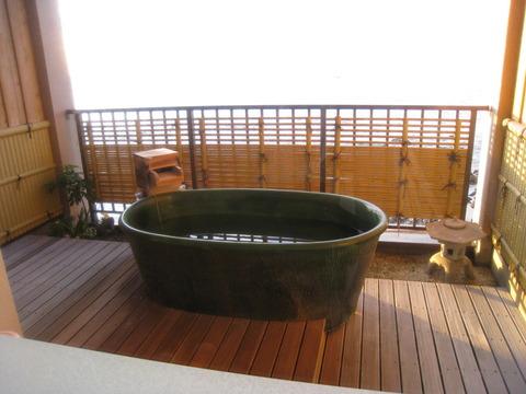 画像 稲取(東海ホテル)部屋の露天風呂