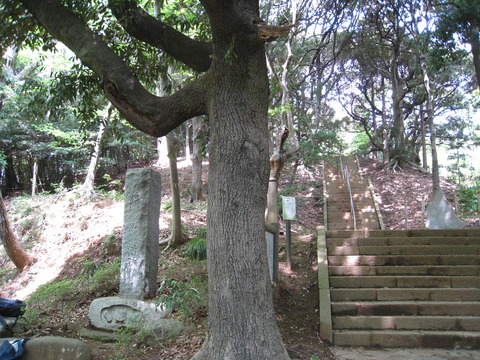 道了堂の階段