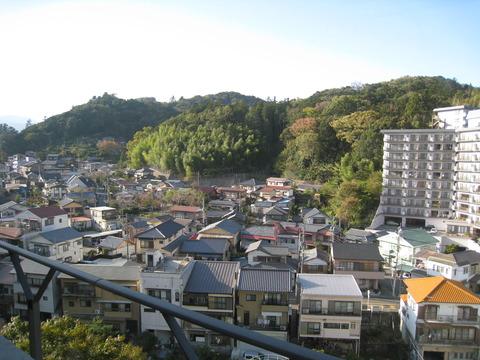 修善寺の桂川ホテルから1