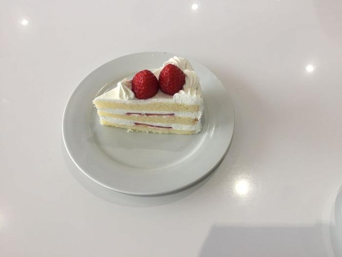ショートケーキのにおい