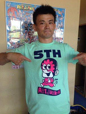 スプラッシュ5周年Tシャツ