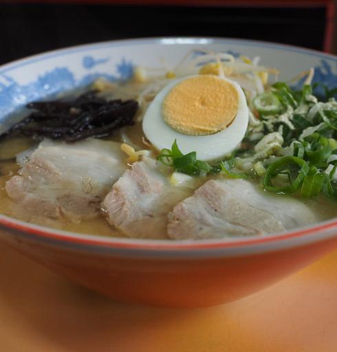 五十嵐食堂@大口山野(鹿児島県伊佐市)ラーメン+いなり寿司