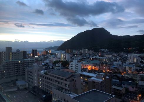 ホテル宿泊避難(大分県別府市)