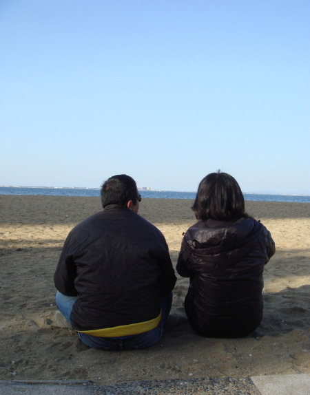 浜飲み@愛宕浜10