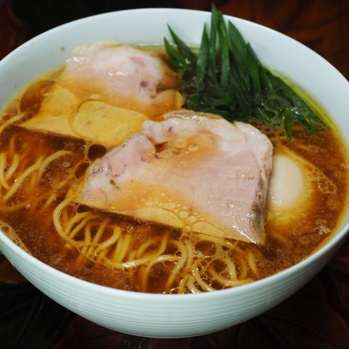 鶏醤油ラーメン(2021_07_09)