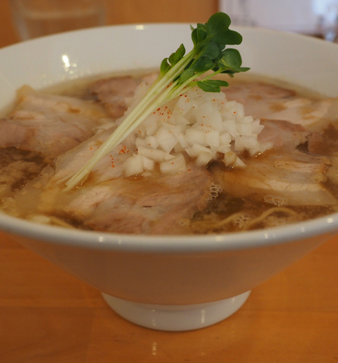 地鶏らーめん はや川@玉川町(福岡市南区)限定煮干し+豚丼
