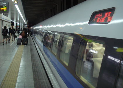 早朝の博多駅