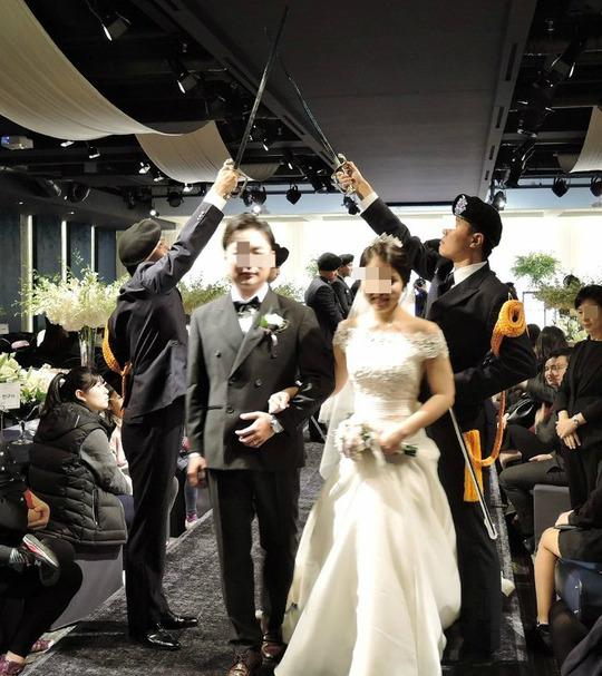 韓国結婚式10