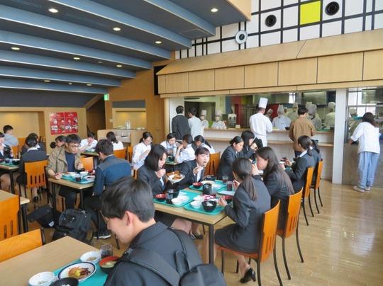 学生食堂再開5