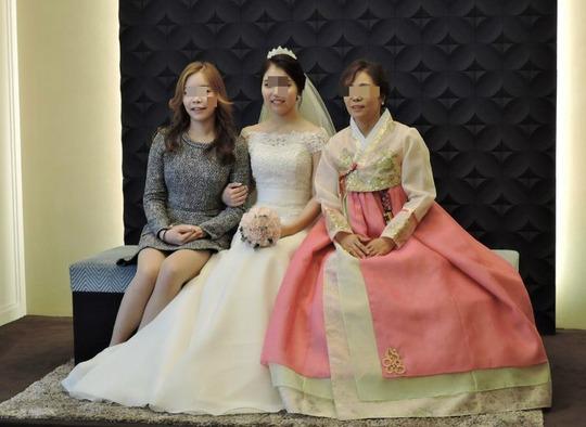韓国結婚式1