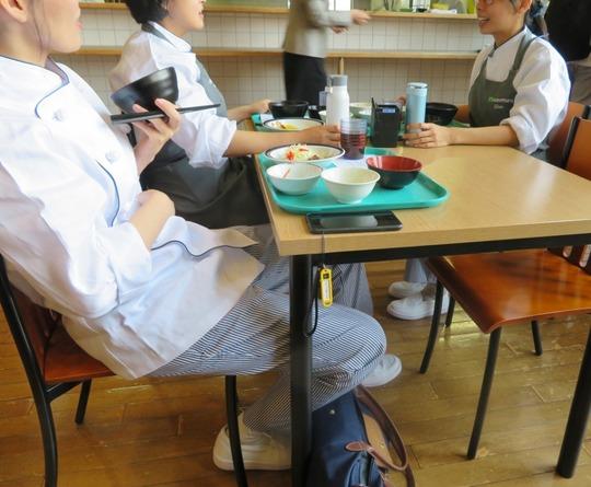 学生食堂再開7