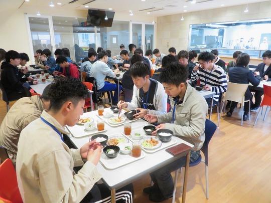 学生食堂再開1