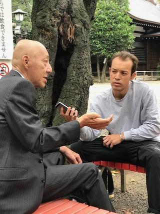 国家社会主義日本労働者党1山田一成総裁 靖国神社インタビュー