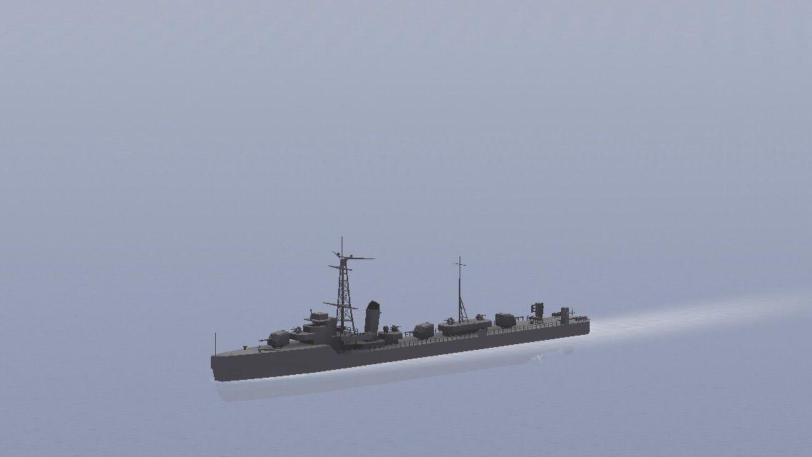 一号、二号型掃海艇 : らぶか重工 NavalCraft造船記