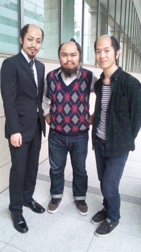 左からトムソーヤ石塚くんワンワンニャンニャン菊地さんキャメルトロフィー花形