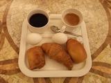 ホテルR&Bの朝食。