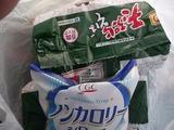 マルちゃん天ぷらそば&ノンカロリーシロップ。