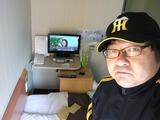 ホテルR&Bの部屋。
