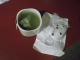 お茶と豆大福