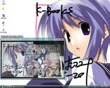 20090727 コミケカタログ特典ささきむつみ先生色紙KBOOKS
