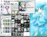 20090806 C76コミケ初音ミクのサークルマップ二日目