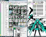 20090806 コミケ76初音ミク サークル マップ三日目