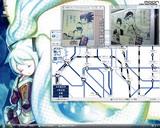 20080531 rootsジャンプポスター・初音ミクmoonのirohaさん