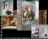 20091230 33回森林保護募金みつみ美里さんポスター