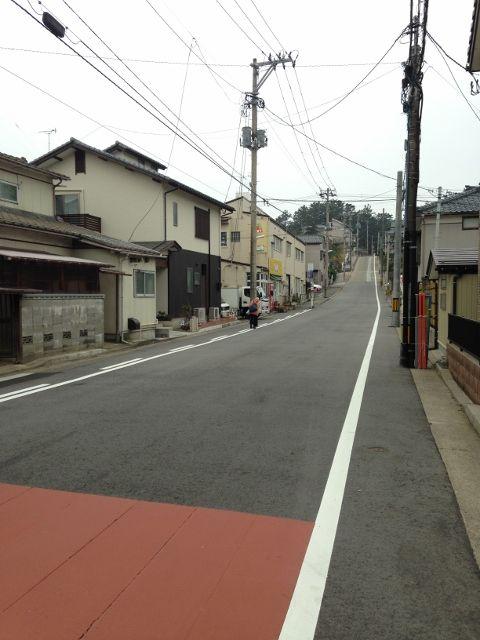 田中町の坂