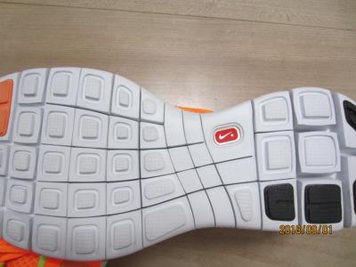 NIKE Free Run+3 sole