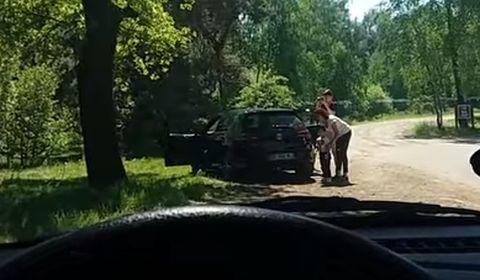 子供「サファリパーク、車の中だとよく見えない!」プンプン パパ「よーし、パパに任せとけ~」⇒