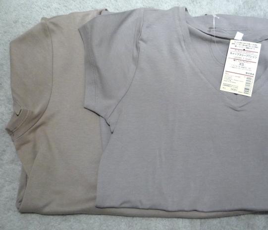 VネックTシャツ カラー比較