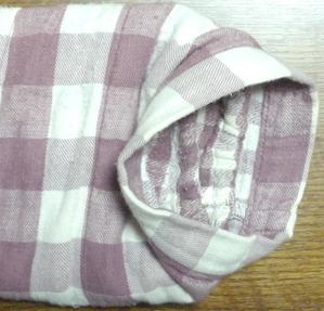 パジャマ袖口