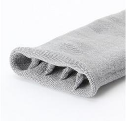 足なり直角 隠れ5本指靴下