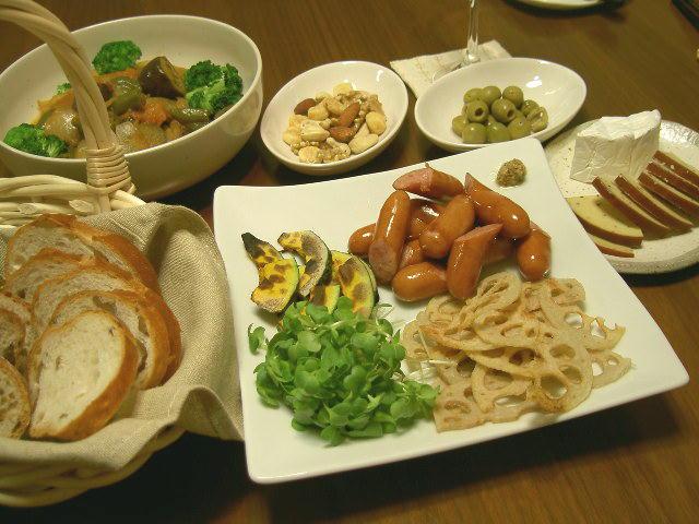 519夕食