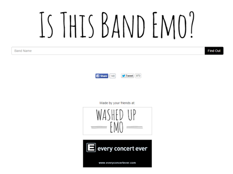 Is This Band Emo