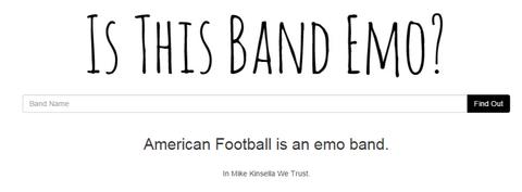 american football emo