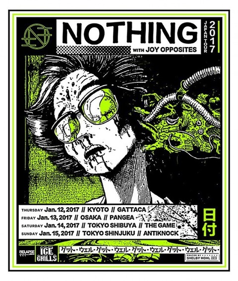 nothing japan tour 来日