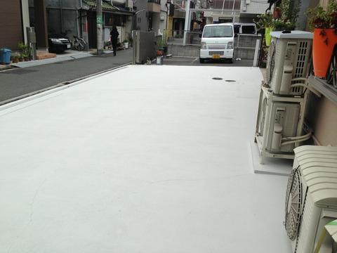 上塗り施工後 (2)