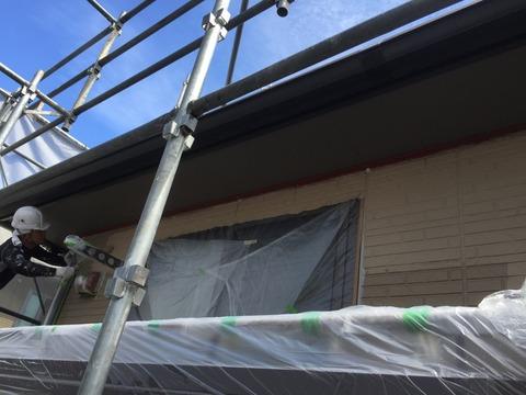 外壁サイディングシリコン塗装