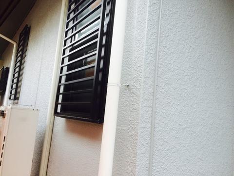 外壁既存同色部分塗装