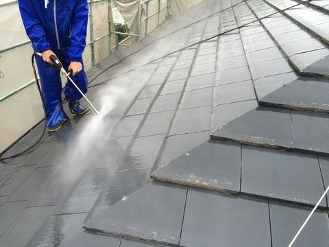 屋根洗浄6