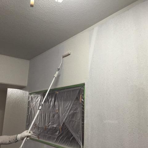 壁上塗り1回目