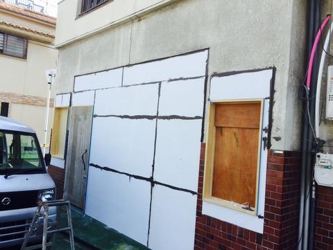 外壁塗装下地処理