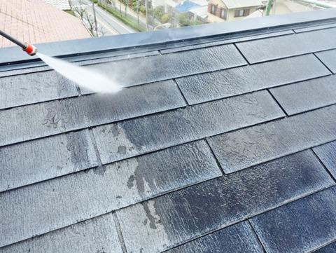 屋根洗い6