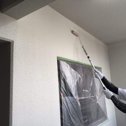 壁上塗り2回目