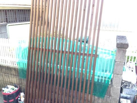 木部キシラデコール塗装
